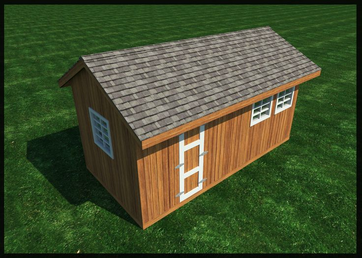 Build your own 10 39 x 20 39 gable roof shed diy plans fun Build your own cupola