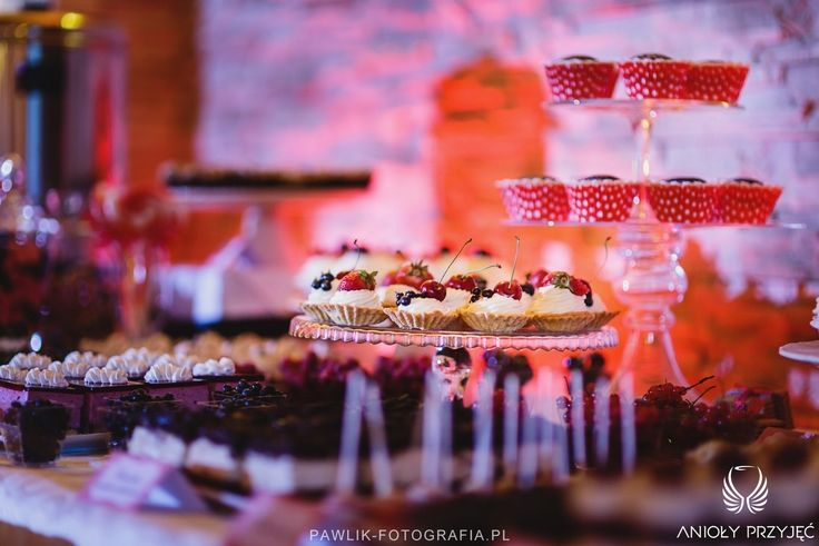 24. Rock Wedding,Sweet table,Sweets / Rockowe wesele,Słodki stół,Anioły Przyjęć