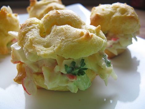 crab recipes   Crab Puffs Recipe - China culture