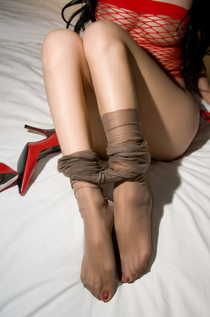 Sexy toes and stockings