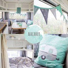 Caravanmakeover Nachher-Bild
