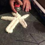 VBS 2016: Submerged Starfish!  I really like this idea using spray foam insulation.