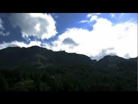 VALGRISENGHE - TIME LAPSE nuvole e stelle - agosto 2012