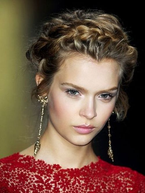 Nice Short Hairstyles for Prom Night
