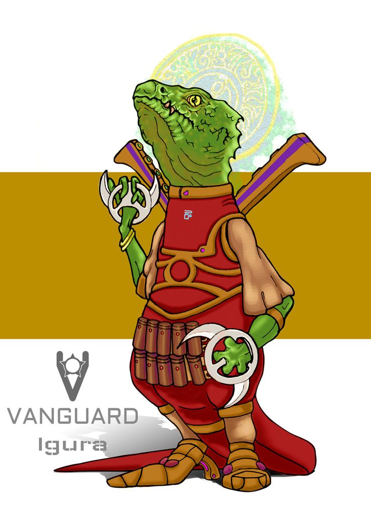 The Igurai are the rulers of the reptyles on Ashen, luckily their fear of space travel has meant that they haven't spread to the outer systems - yet. VANGUARD rpg coming soon to kickstarter