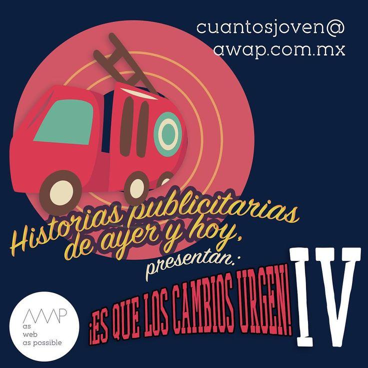 """...es que los cambios me urgen IV""  #BomberASSHOLE #Publicidad #Bomberazo #MéxicoDigital  AWAP.com.mx  #creative #true #awappers #code #digitalmarketing #digitalagency #mexico #df #agencia #designPorn #html #css #responsive #marketingdigital #agenciadigital"