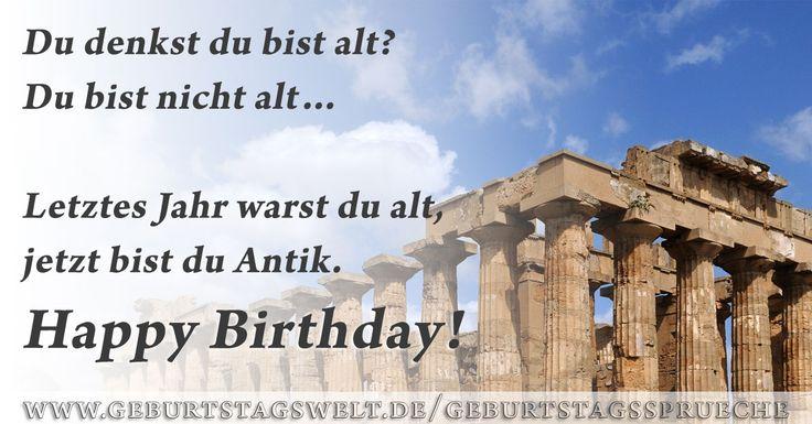 Lustige Geburtstagsbilder zum Gratulieren und Teilen.