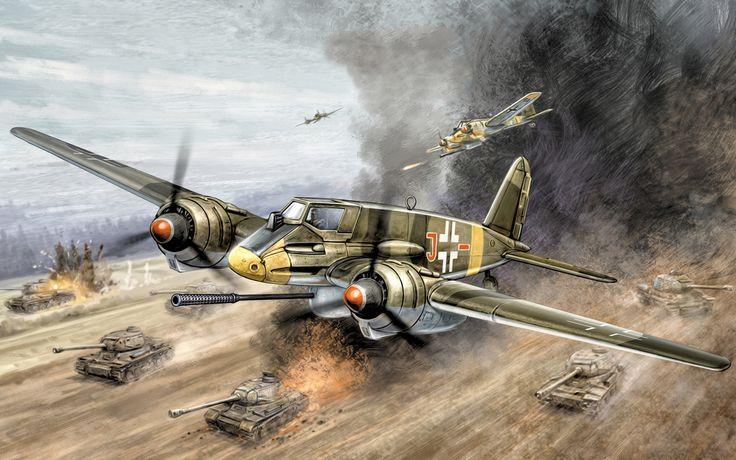 203 Best World War 2 Battle Art Images On Pinterest