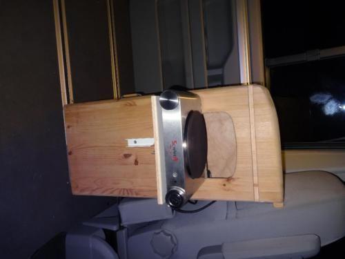 Ich verkaufe hier ein Campingküchenmodul in Form einer Einzel-Elektroheizplatte mit Klappkonsole...,Camping Küche Campingküche Modul TÜV in Bayern - Rettenberg