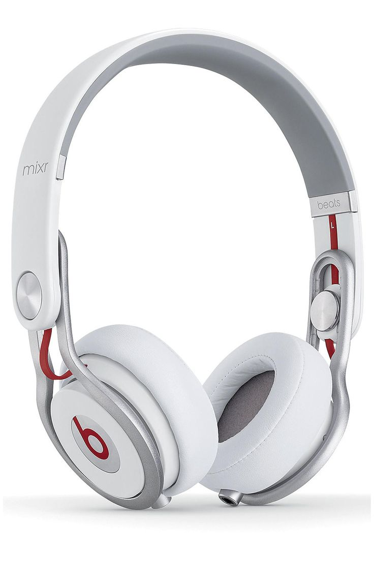 The Beats By Dre Mixr On-Ear Headphones in White. http://zocko.it/LDc54