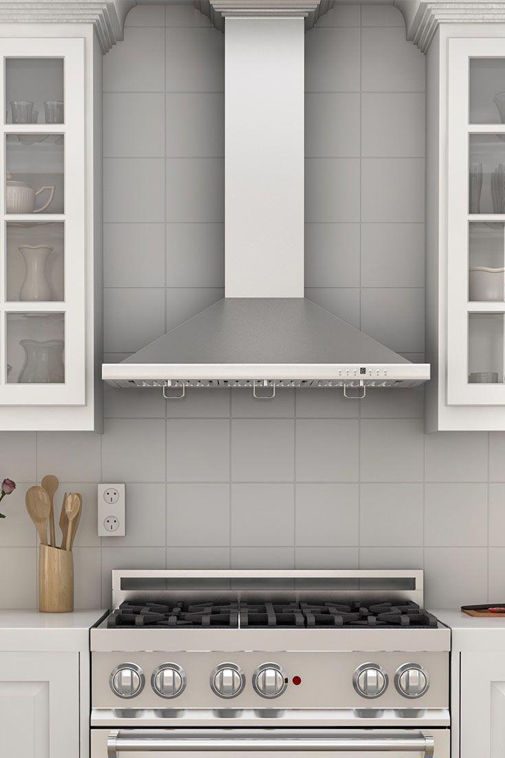 Kitchenideas Kitchendesign Kitchenappliances Adding Kitchen Designs Adding Kitchen Designs With Stainless Steel Element In 2019 Kitchen Vent Hood Kitchen Hood Design Kitchen Exhaust