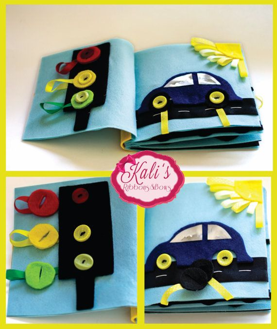 80 best quiet book images on pinterest busy book quiet books quiet book pattern car page pdf pattern and illustrated tutorial for no sew quiet book page with applique car and traffic light pronofoot35fo Gallery