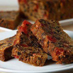 Fruit cake: Great dark Christmas cake recipe.