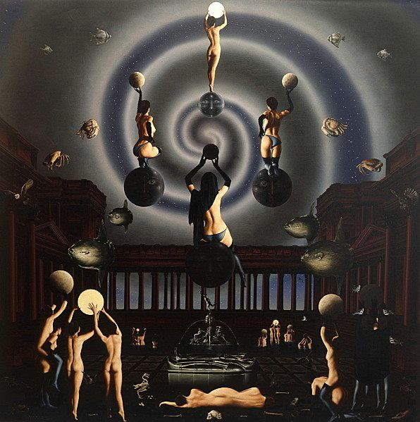 """La lune et le culte occulte"""