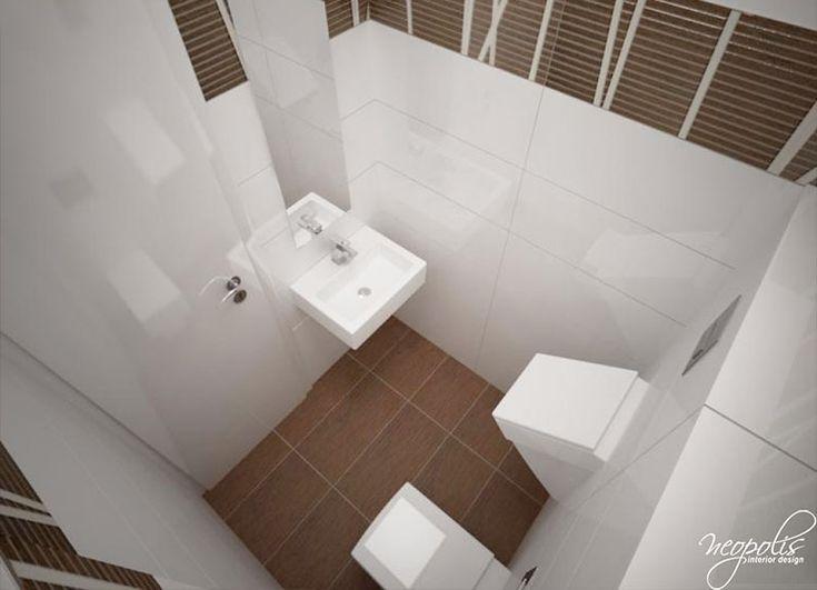 Jednoduché a čisté prevedenie WC prispôsobené potrebám muža i ženy… Viac náhľadov tejto vizualizácie na: Kupelnovy-manual.sk