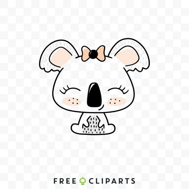 Free Koala Clipart Clip Art Rabbit Clipart Koala