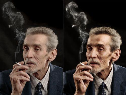 Dodge & Burn effect  Photo Retouching Tips And Tricks In Photoshop | Smashing Magazine
