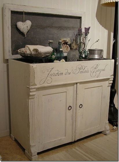 Captivating Great Dry Sink And Framed Chalk Board