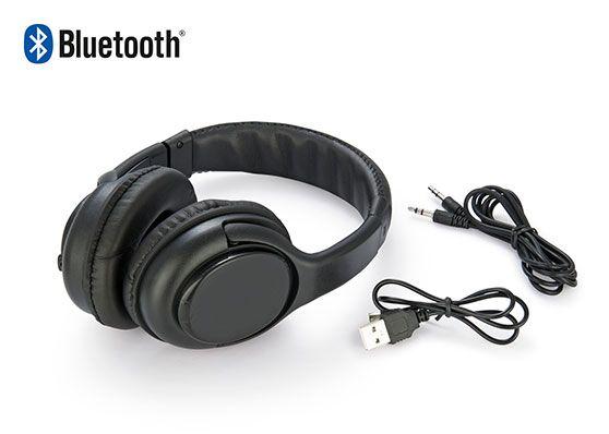En Compranet Diadema Audifonos Quit Over-Ear Bluetooth con Microfono - Negro CPN-05165-01 Visitanos en www.compranet.com.co