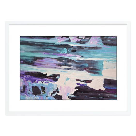 Rivers Flow Landscape Framed Print