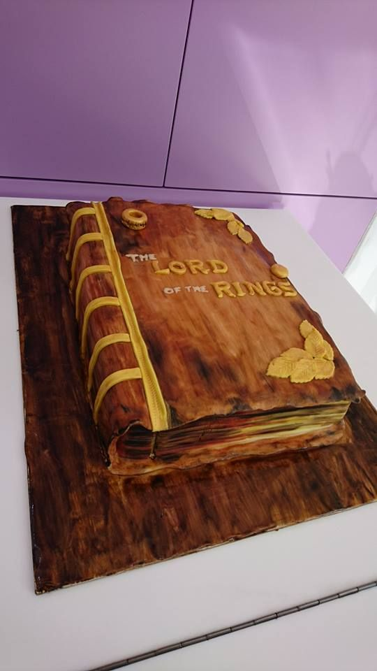 #lordoftherings Lord of the Rings cake
