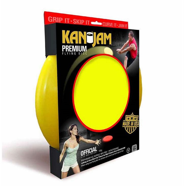 Kan Jam Flying Disc, Yellow