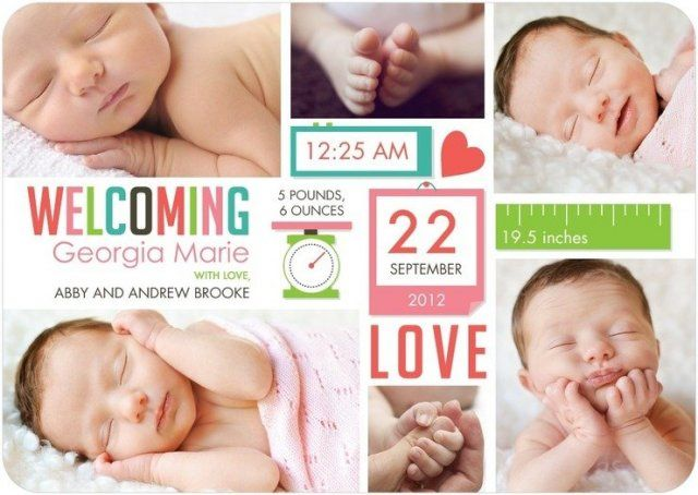 Ideas para anunciar el nacimiento de tu bebé | Blog de BabyCenter
