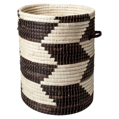 I have this and I LOVE it!! It's being pretty and storing blankets in my living room. :) >>Maize Woven Storage Basket, $39.99 from Target