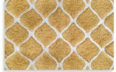 Bed Bath Rugs Colordrift Morocco Gold Bath Rug   Contemporary   Bath Mats