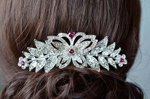 Choose Your Accent Colour  Large Crystal Rhinestone