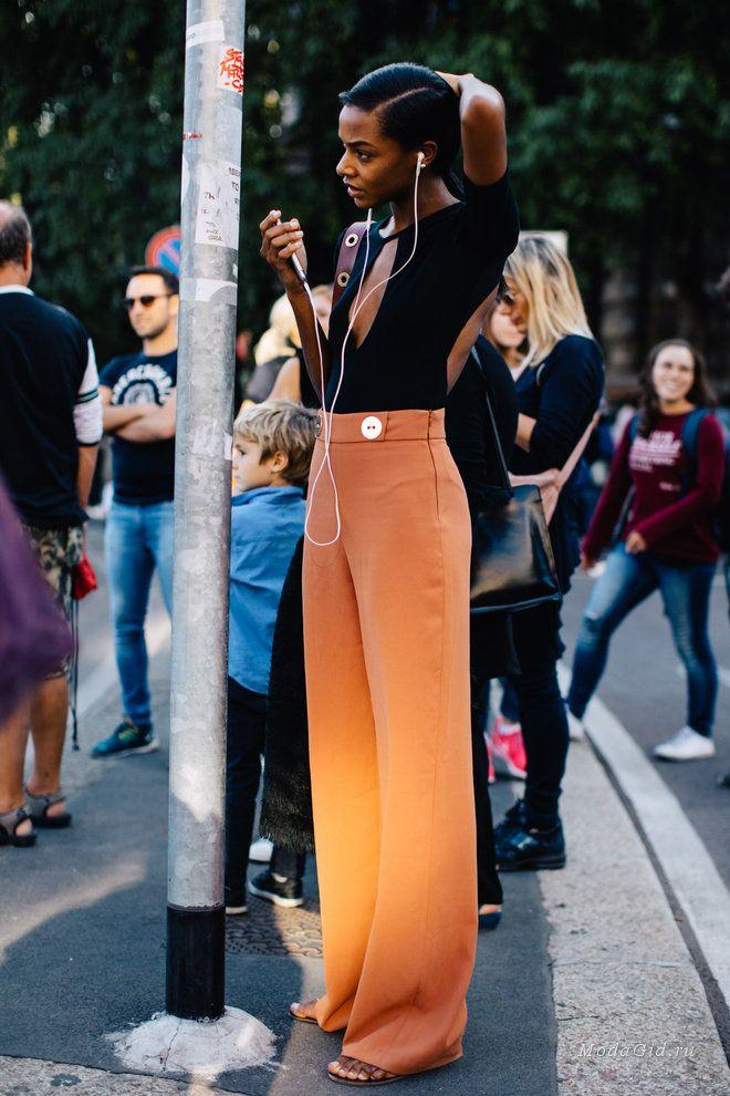 Уличная мода: Завершающий обзор уличного стиля недели моды в Милане весна-лето 2017