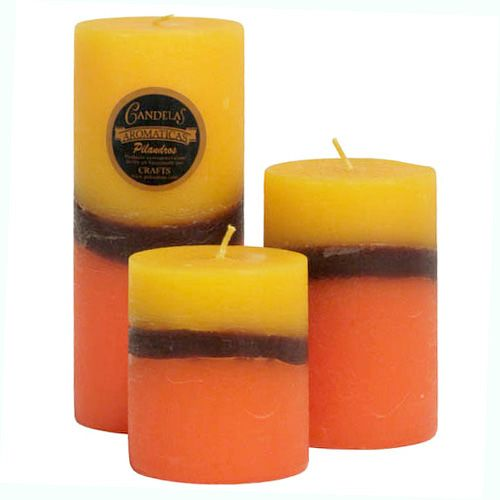 These stately pillar candles, available in three ascending sizes, make an elegant addition to your bathroom, bedroom, or dining room. Handmade by artisans at Pilandros Art, a family owned business outside Guatemala City that makes earth friendly candles using clean-burning paraffin wax from Germany and depending on the style, locally grown flowers, leaves, fruits, spices and dyes. Pilandros has over 500 different styles of candles, all of which are easily identified by their extensive…