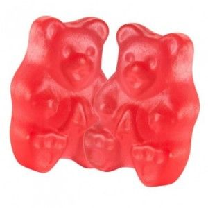 buy albanese gummy bears strawberry 1 pound at httpjcandy - Buy Candy By Color
