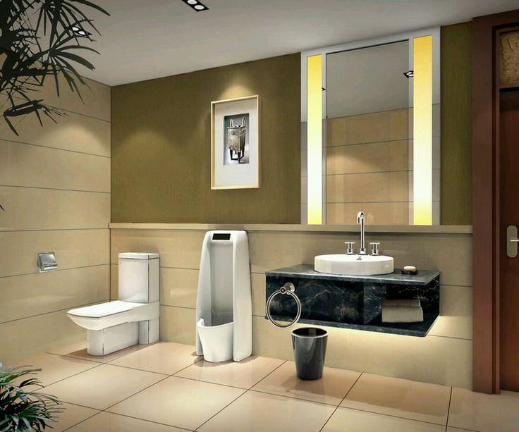 modern white toilets with elegant black marble washbasin also nice glass mirror in bathroom glass
