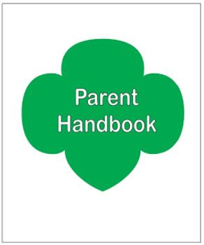 Girl Scout Troop Parent Handbook. This is a great resource! I may pass it out at our next parent meeting.