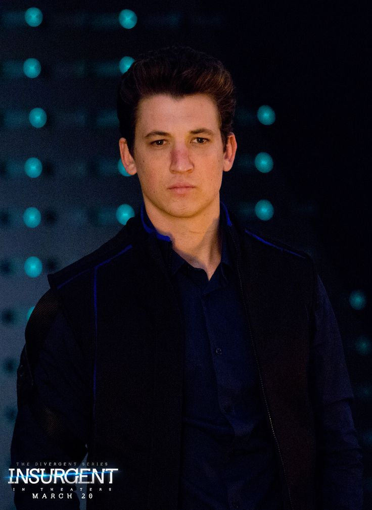 To stay alive, you need to know more than how to fight. Miles Teller as Peter in The Divergent Series: | Insurgent.