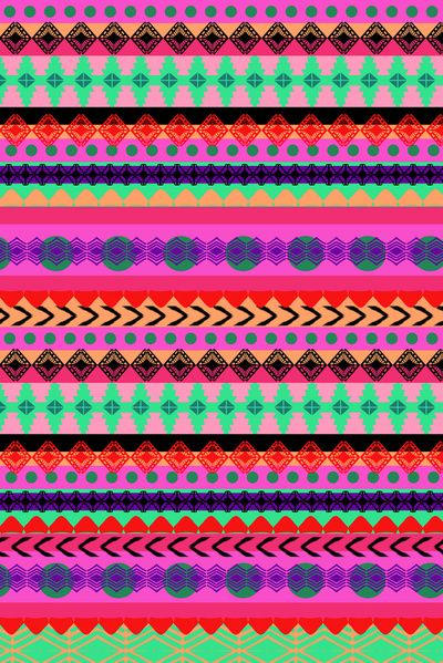 Tribal Stripe available on society6