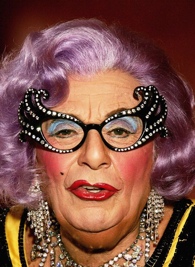 Dame Edna Everage | 15 Fierce Drag Queen Transformations That'll Blow Your Wig Off-women