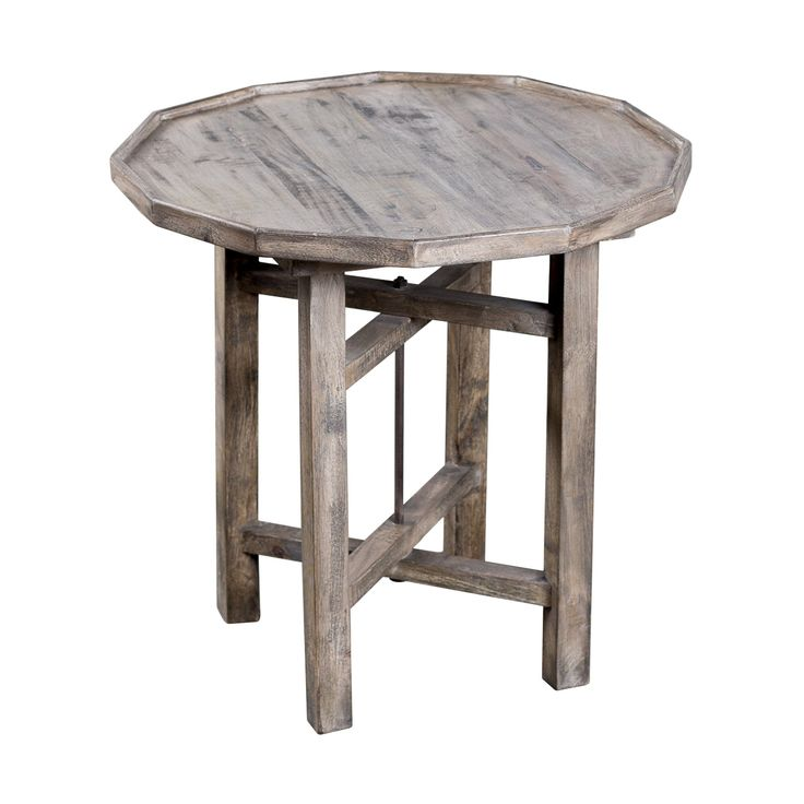 Utilizing The Sleek Look Of A Dutch Farmhouse, This Rustic Modern Side Table  Is Fashioned Of Exotic, Smoky Mango Wood. Place In A Living Room Withu2026