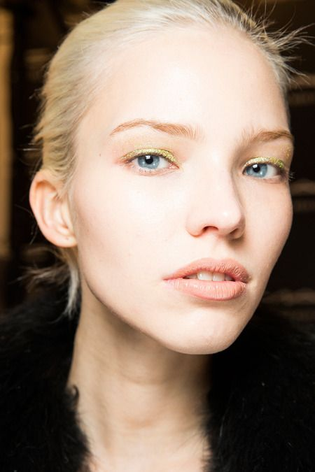 Yellow glitter at Altuzarra   Fall 2014 Ready-to-Wear Collection   Style.com