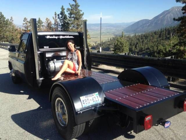 Custom Made Fire Truck Flat Beds