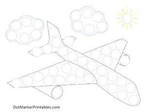 Free Dot Marker Printables: Transporation Collection - Dot Marker Printables