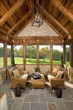Mare Barn Sun Rooms rustic porch