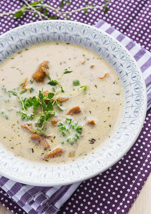 A delightful and easy to prepare chantarelle soup that has become a favorite.