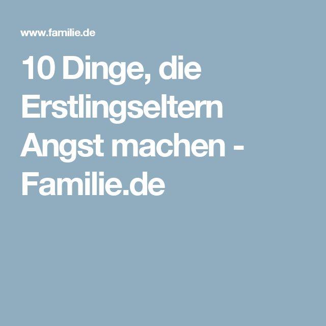 10 Dinge, die Erstlingseltern Angst machen - Familie.de