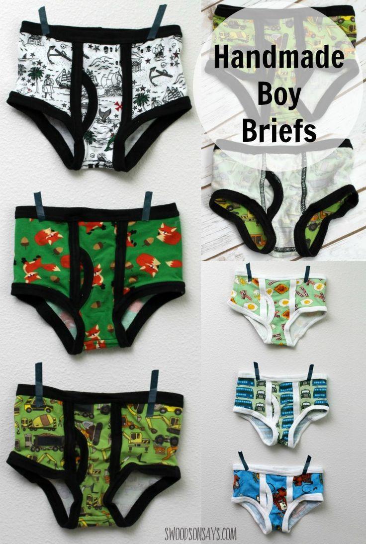 'Captain Underpants' Boys Briefs – Momma Quail Patterns