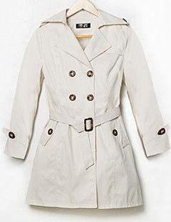 Милдред женщин новый корейский моды темперамент лацкан ол короткие тип ветровка пальто