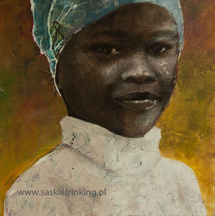 African women portrait