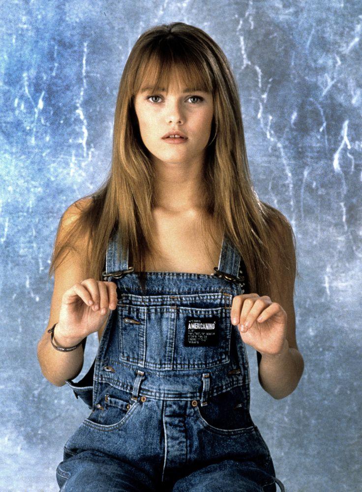 1988 Vanessa Paradis à 15 ans. Elève au lycée de Fontenay ...