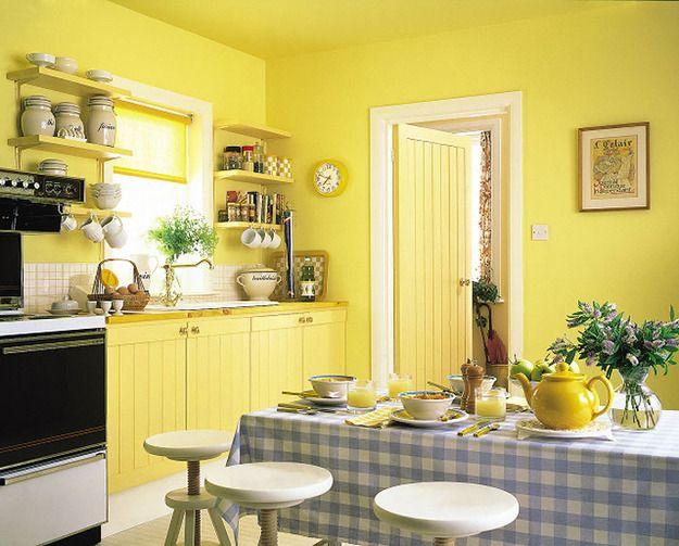 Фотография: Кухня и столовая в стиле Кантри, Карта покупок, Индустрия, покраска стен, стены под покраску, стены на кухне, dulux trade diamond matt – фото на InMyRoom.ru
